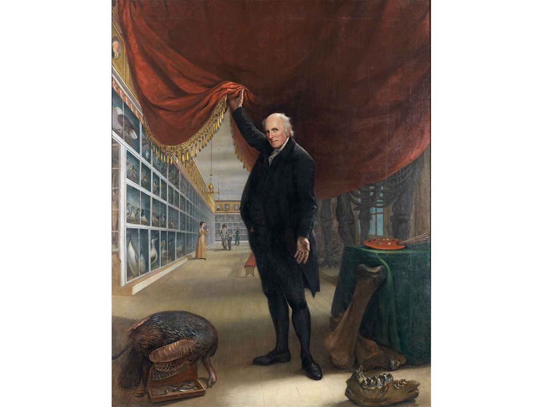 Charles Willson Peale Pulls Curtain on Museum