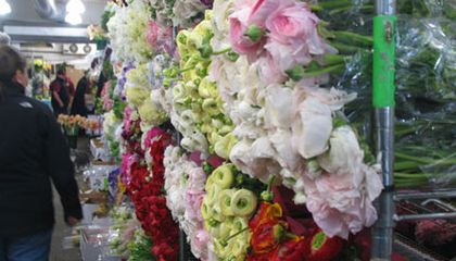 It's Always Springtime at the Flower Market