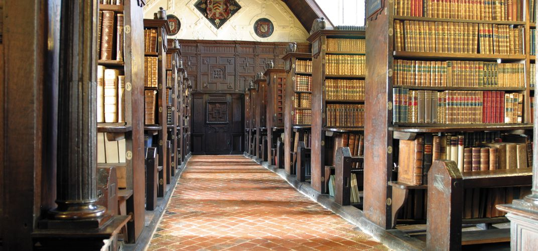 Merton College Library, Oxford