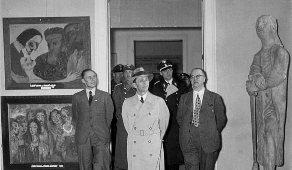 """The Nazis' 1937 exhibition decried Modernist works as """"an insult to German womanhood"""