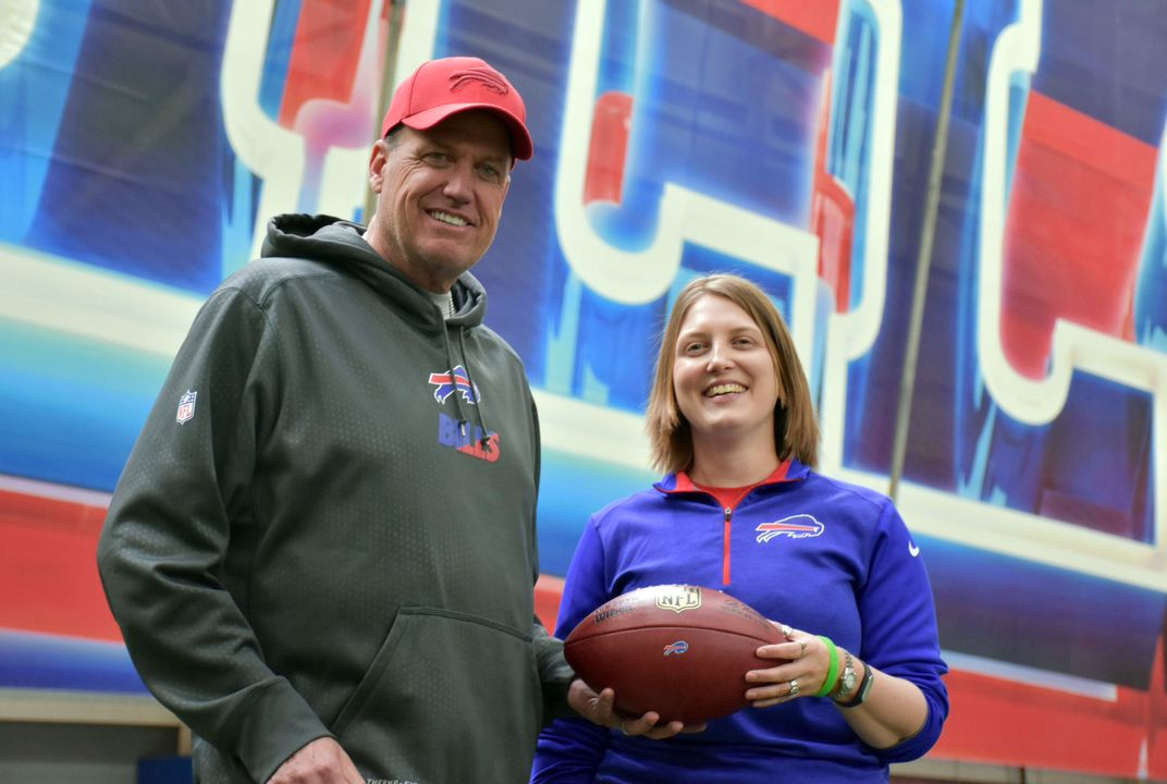 Woman becomes NFL's first female full-time coach