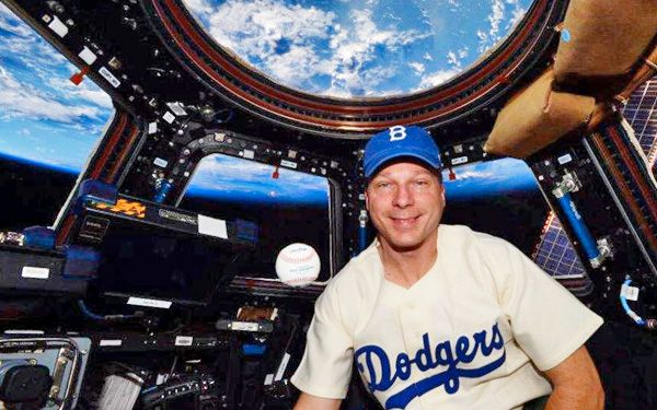 Jackie Robinson Day celebrated in space