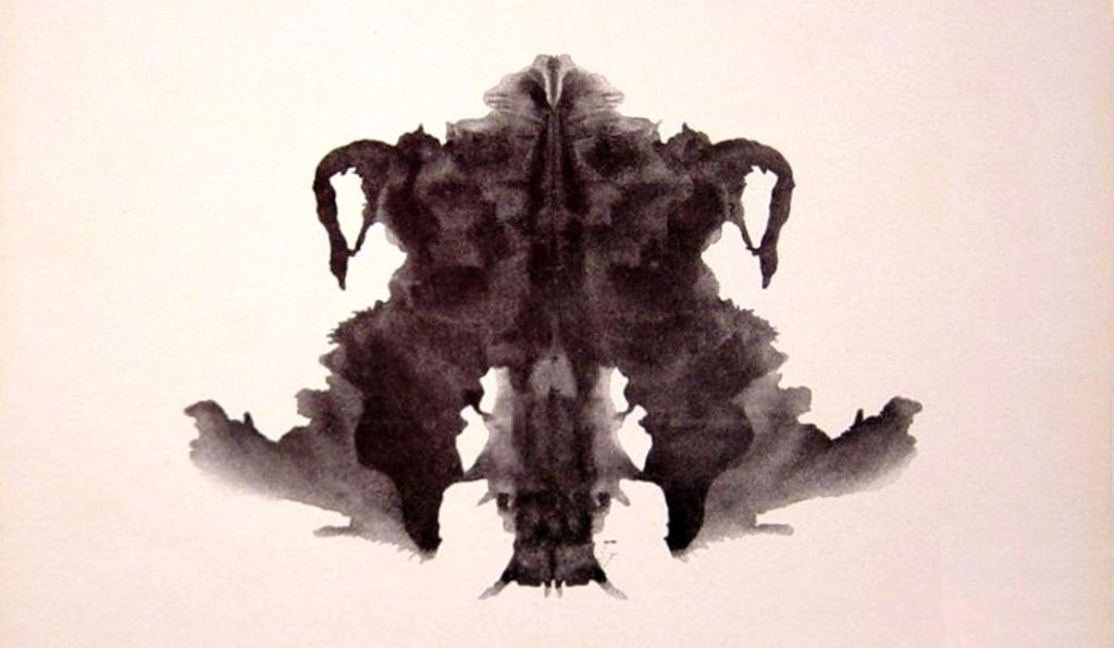 The Rorschach inkblot test relies on what you read in to the image.