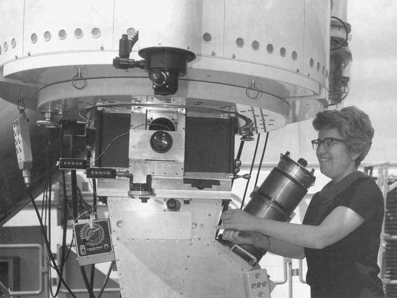 For the first time, a National U.S. Observatory has been named for a female astronomer: Vera Rubin