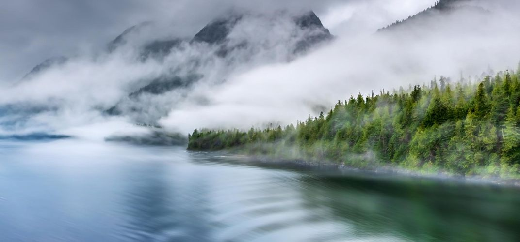 The evocative Misty Fjords