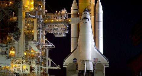 Space shuttle Discovery ready to launch for its final mission in 2010