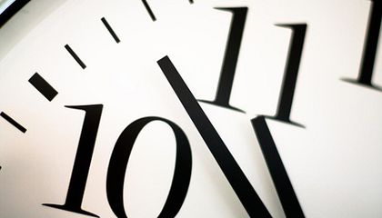 The Myth of Making Up Time