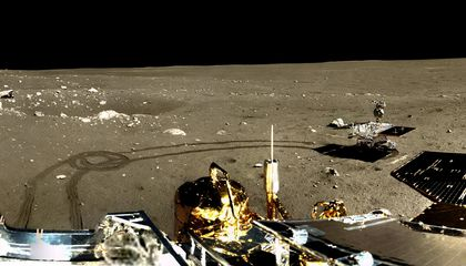 Chang'e-3 On The Moon