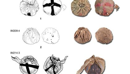 These Hair-Filled Leather Pouches Are the Oldest Balls Found in Eurasia
