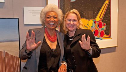 Q & A: Nichelle Nichols, AKA Lt. Uhura, and NASA