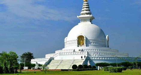 Lumbini in Nepal, identified as the Buddha's birthplace