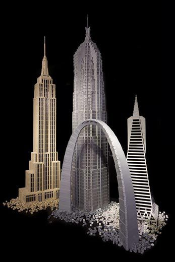The Worlds Great Structures Built With Legos Arts Culture