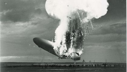 What Really Felled the Hindenburg?
