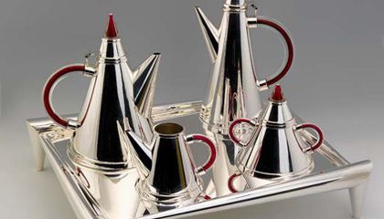 On View at the Renwick: Artist Ubaldo Vitali Has Silver in the Blood