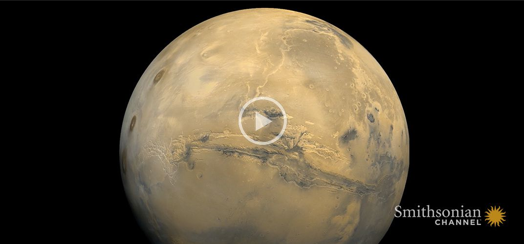 Caption: How a Powerful Dust Storm Made Mars 'Disappear' In 2018