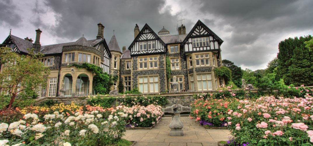 Bodnant Garden, located in northern Wales, is a fine example of 19th-century Victorian landscape artistry.