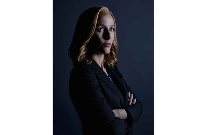 9a66d6c26ab ... Agent Dana Scully portrayed by Gillian Anderson became a role model for  a generation of young girls
