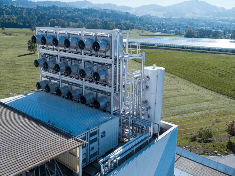 Swiss company to extract Co2 from air and reuse it