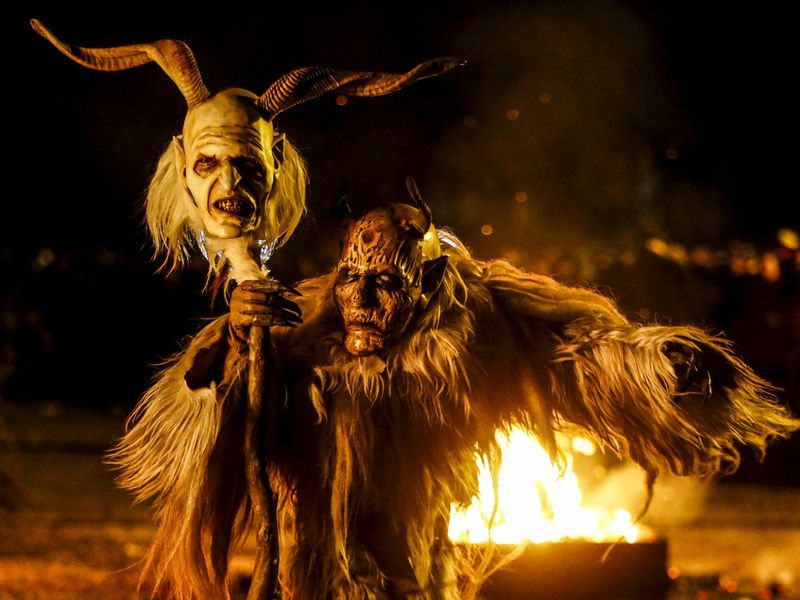 The Origin of Krampus, Europe's Evil Twist on Santa | Travel