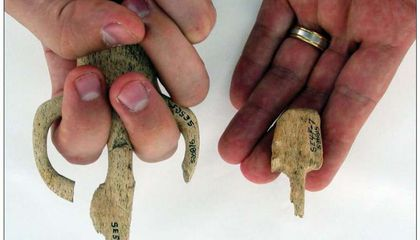 These Miniature Tools Taught Ancient Children How to Hunt and Fight