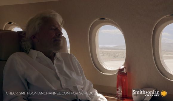 Preview thumbnail for video'Richard Branson speaks on plan for space tourism