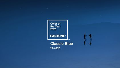 Pantone's Color of the Year Is 'Solid and Dependable' Classic Blue