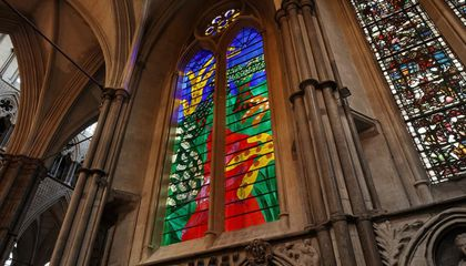 Westminster Abbey's Newest Window Was Designed by David Hockney—on an iPad