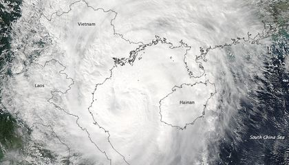 While the East Coast Focused on Sandy, Typhoon Son-tinh Battered East Asia