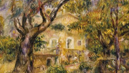 Renoir The Farm at Les Collettes
