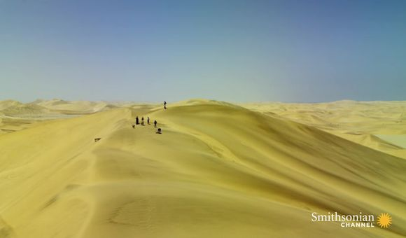 Preview thumbnail for video'Yes, You Can Go Sandboarding in the Namib Desert