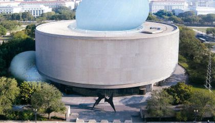 An Award for the Yet-to-Be-Built Hirshhorn Bubble