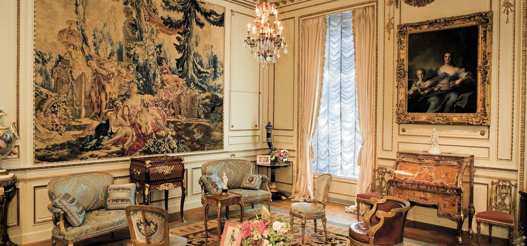 French drawing room at Hillwood Estate, Museum and Gardens