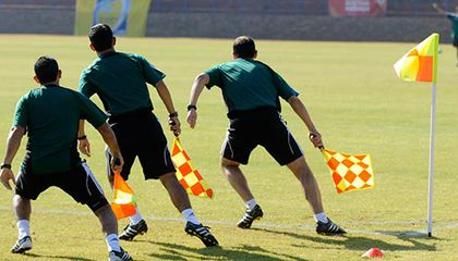 FIFA World Cup referee training