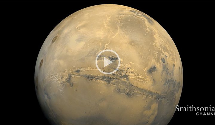 How a Powerful Dust Storm Made Mars 'Disappear' In 2018