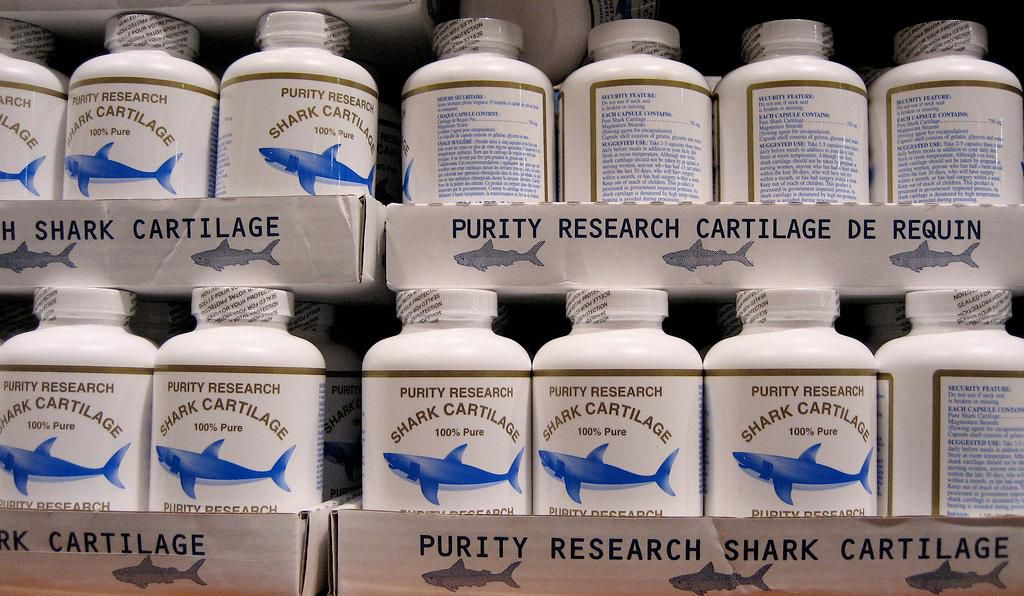 Shark cartilage pills enjoyed a brief burst of popularity