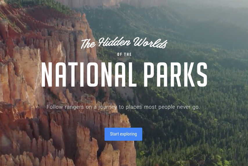 Google Arts and Culture National Parks