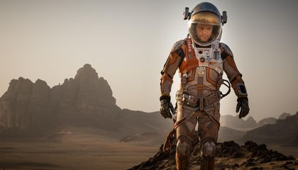 Interview: Matt Damon, First Farmer on Mars