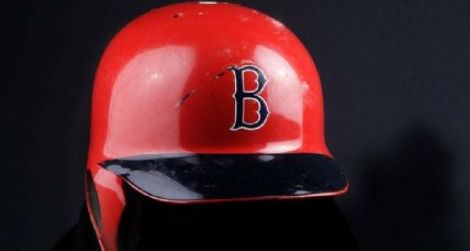 Carl Yastrzemski's custom batting helmet
