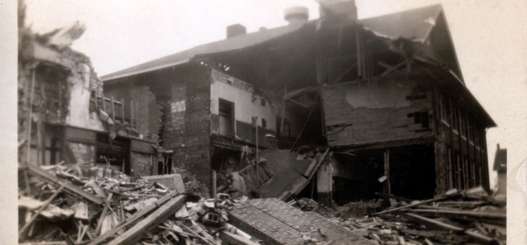 Caption: The Deadly Bath School Bombing of 1927