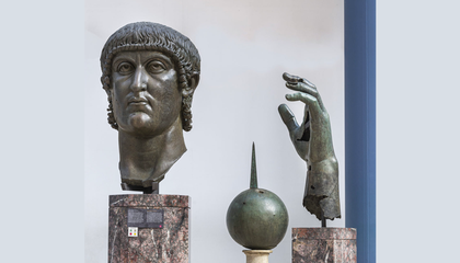 Colossal Bronze Statue of Roman Emperor Reunited With Its Long-Lost Finger