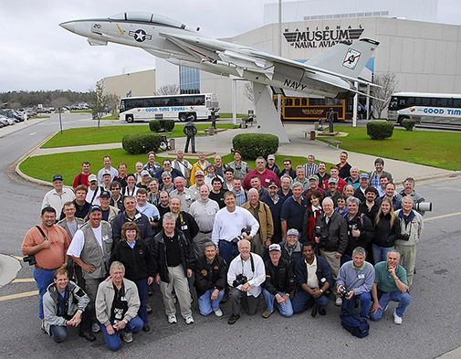 Aviation photographers met in Pensacola, Florida last month for their annual get-together.