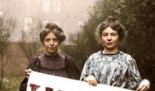 Photographs Documenting the Struggle for Women's Suffrage Are Reimagined in Full Color