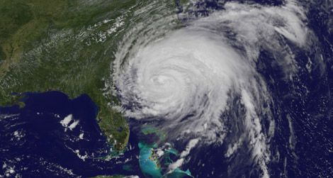 Hurricane Irene makes landfall.