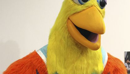 Image: Puppetry museum opens exhibit celebrating mascots