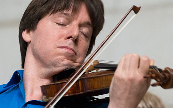 Violinist wants kids to have music in their lives