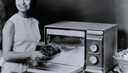 Hot Food, Fast: The Home Microwave Oven Turns 50