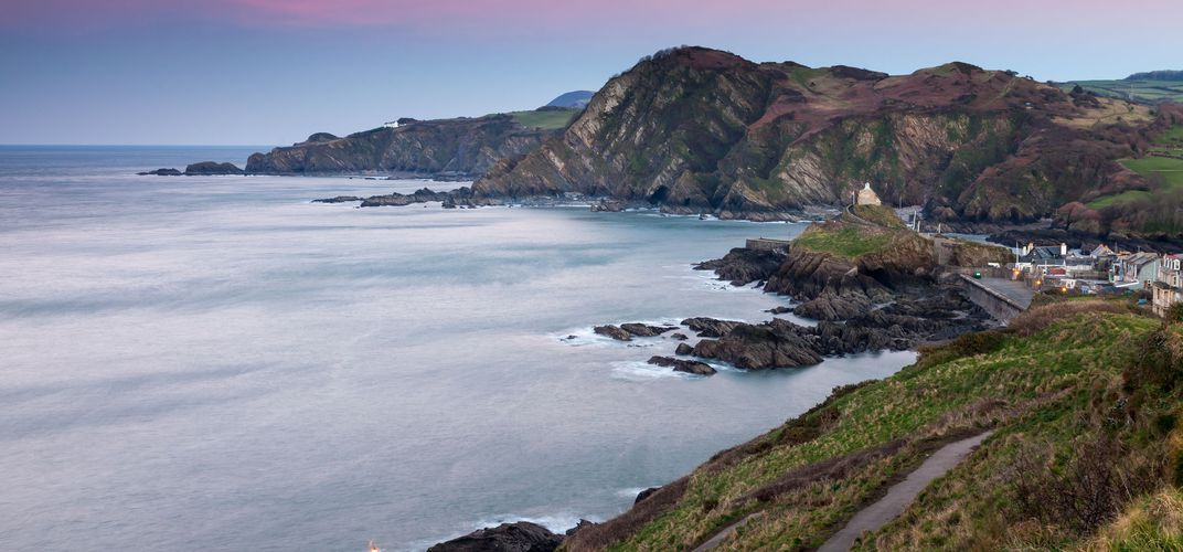 The coast of Devon