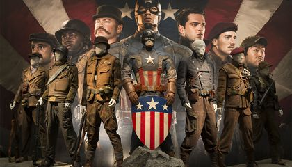 How Captain America Made the Leap From the Museum to the Front Pages