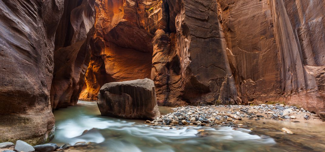 The Narrows Trail, Zion National Park