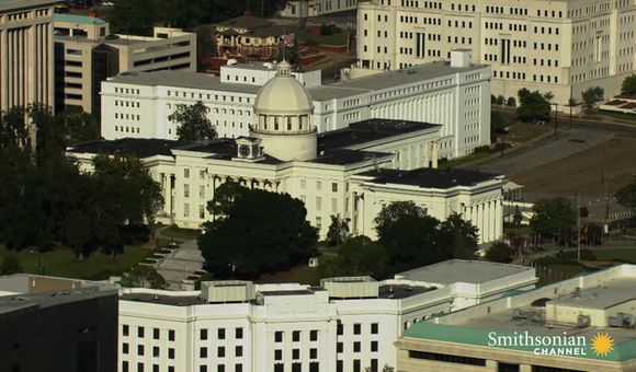 Preview thumbnail for video'What some of the most important Civil Rights sites look like from the air.